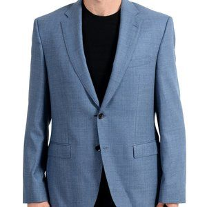 "Hugo Boss ""Phoenix"" Men's 100% Wool Blue Blazer"